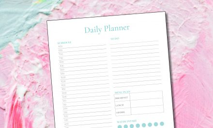 FREE Printable Daily Planners