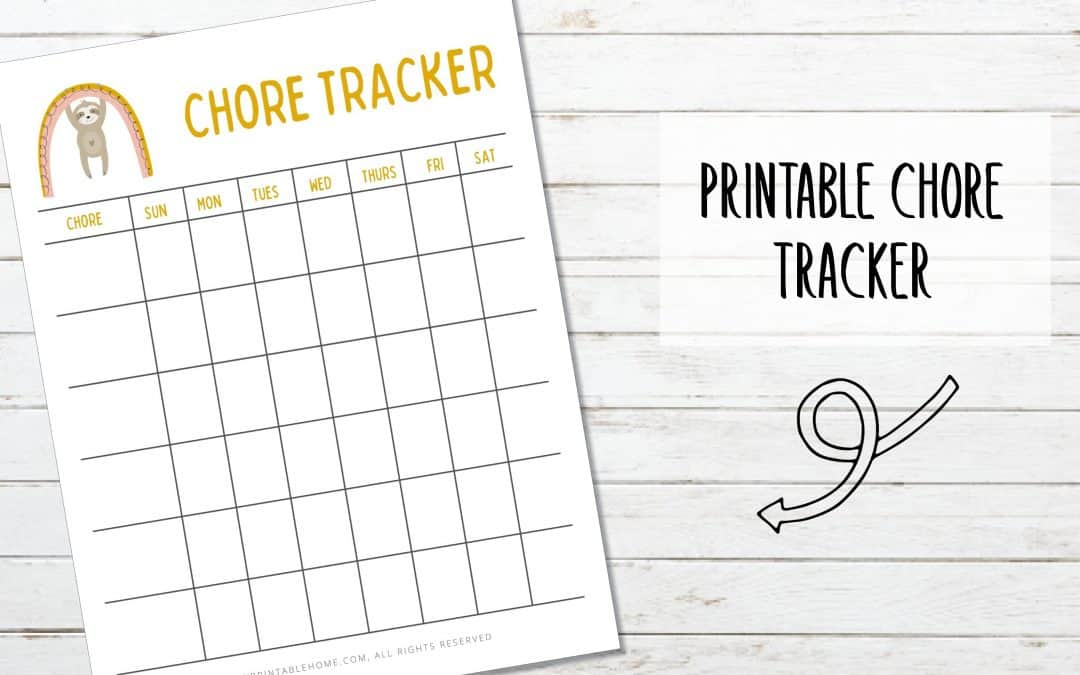 Kids Chore Tracker