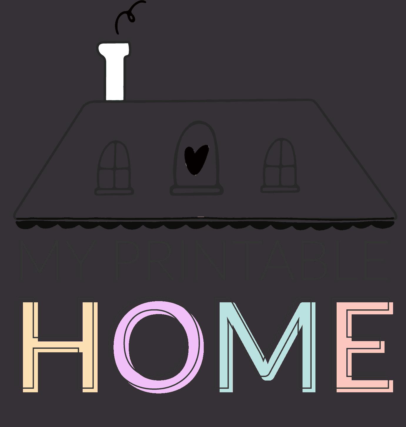 My Printable Home