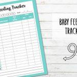 Printable Baby Feeding Tracker