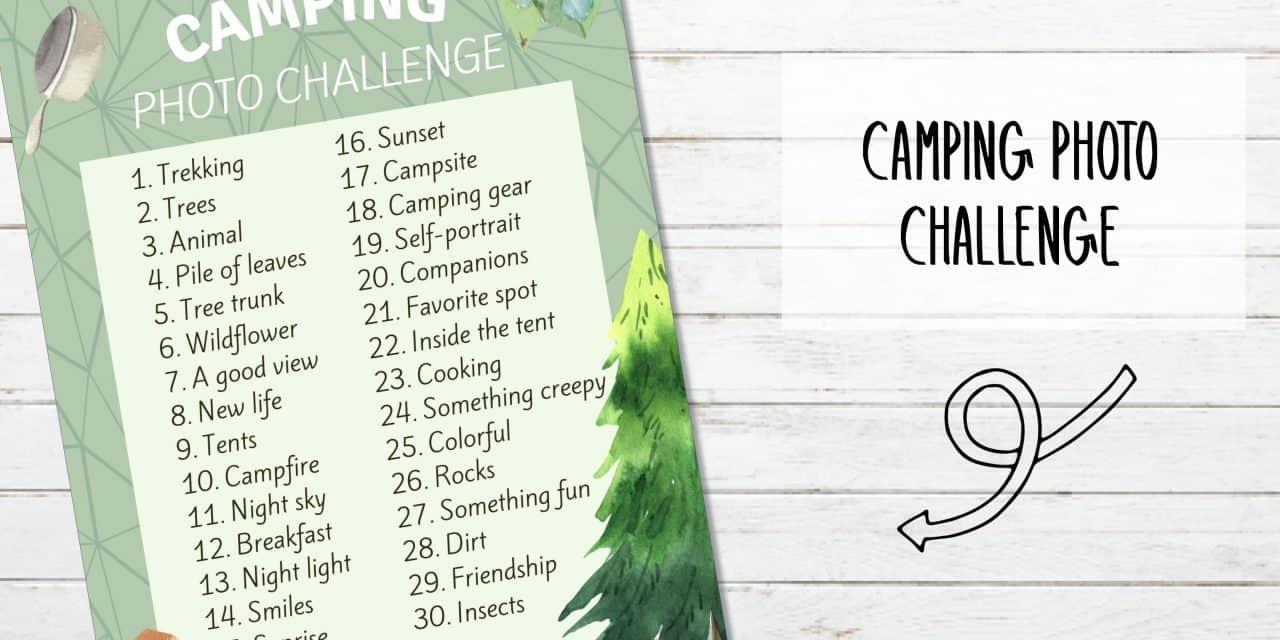 Free Printable Camping Photo Challenge