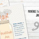 Free Printable Gratitude Jar