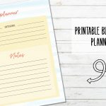 Free Printable Blog Post Planner